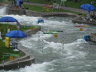 Shunyi Olympic Rowing-Canoeing Park - Image: Whitewater Slalom 2008 Olympics 3