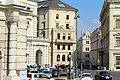 Wien, Josef-Meinrad-Platz, Blick zur Bankgasse.JPG