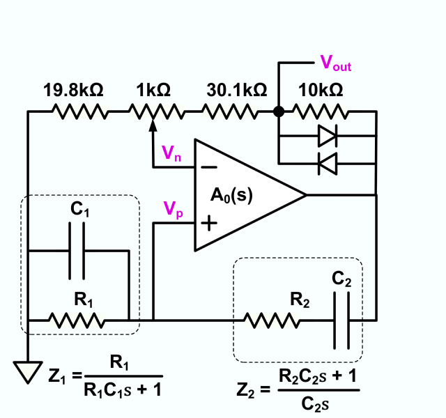 file wien bridge oscillator with diode limiting png