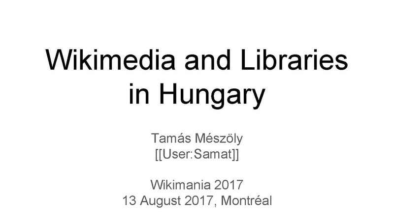 File:Wikimedia and Libraries in Hungary.pdf