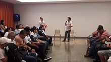 Wikipedia workshop at Laramara 01.jpg
