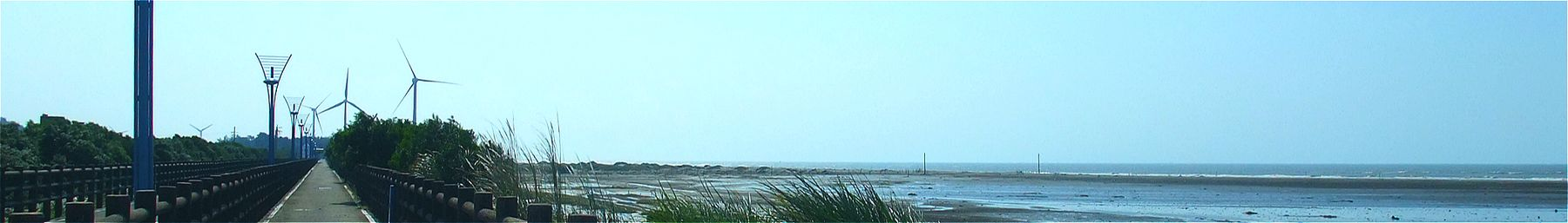 Wikivoyage banner of Hisnchu Top 8 Seascapes Bikeway.jpg