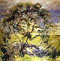 野生樱桃树约翰Twachtman c.1901.jpeg