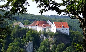Spur castle - Wildenstein Castle