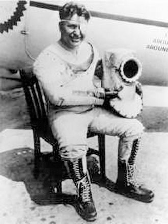 Wiley Post - Wiley Post in his third pressure suit