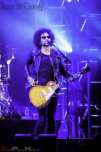 William DuVall - DuVall performing with Alice in Chains in 2016