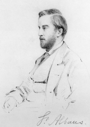 William Beauclerk, 10th Duke of St Albans - The 10th Duke of St Albans  by Frederick Sargent.