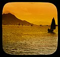 William Henry Jackson, Distant view from harbor approach, Hongkong, 1895.jpg