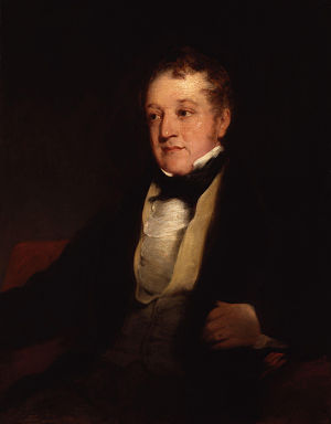 Opening of the Liverpool and Manchester Railway - Image: William Huskisson by Richard Rothwell