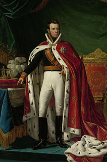 King of the Netherlands and Grand Duke of Luxembourg 1815 - 1840