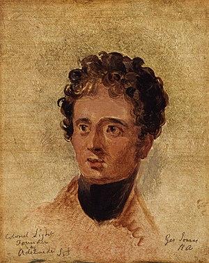 William Light - William Light by George Jones, National Portrait Gallery, London.