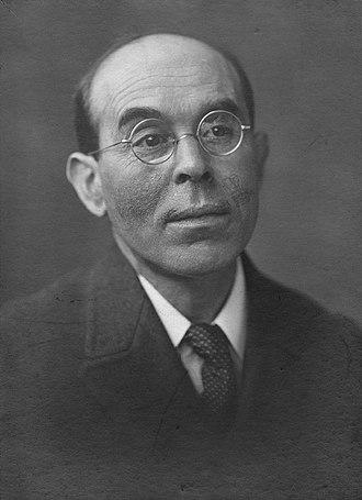 William Rothenstein - A portrait of William Rothenstein taken by George Charles Beresford in 1920