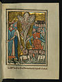 William de Brailes - The Eighth Plague - Locusts (Exodus 10 -12-15) - Walters W1069R - Full Page.jpg
