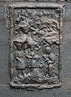 wilnis, koningin julianastraat 23, nh kerk, klok, detail aanbidding - img0182
