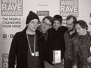 Wilco - Wilco at the Wired Rave Awards in 2003