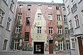Wojciech Siudmak 'Narodziny dnia' picture on the walls of 4 Więckowskiego Street tenement house in Łódź 02.jpg