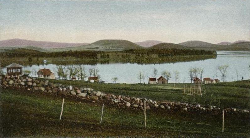 Wolfeboro Bay from Wolfeboro, NH
