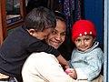 Woman and Children - Ghum (Ghoom) - Near Darjeeling - West Bengal - India (12432019554).jpg