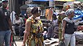 Woman wearing a surgical mask in Brazzaville - COVID 19.jpg