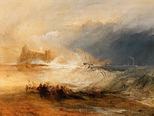 Wreckers Coast Of Northumberland, Painted Ca. 1836. Yale Center For British  Art