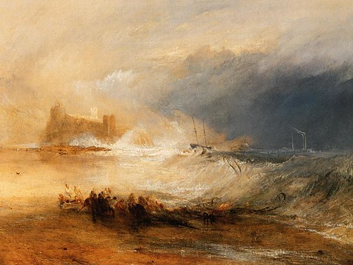 Wreckers Coast of Northumberland Joseph Mallord William Turner