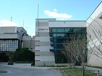 Media in the Tampa Bay Area - WUSF-TV studios in Tampa
