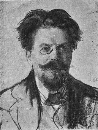 Władysław Reymont - Reymont, by Wyczółkowski