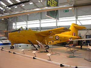 Hunting H126 at the RAF Museum Cosford