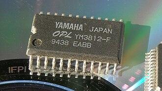 Yamaha YM3812 - Image: YM3812 F