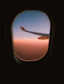 Capture from in Malaysia Airline's airplane