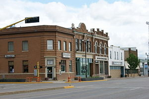Yorkton - Downtown on Broadway Street