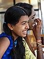 Young Women at Shwedagon Paya - Yangon - Myanmar (Burma) (11773852733).jpg