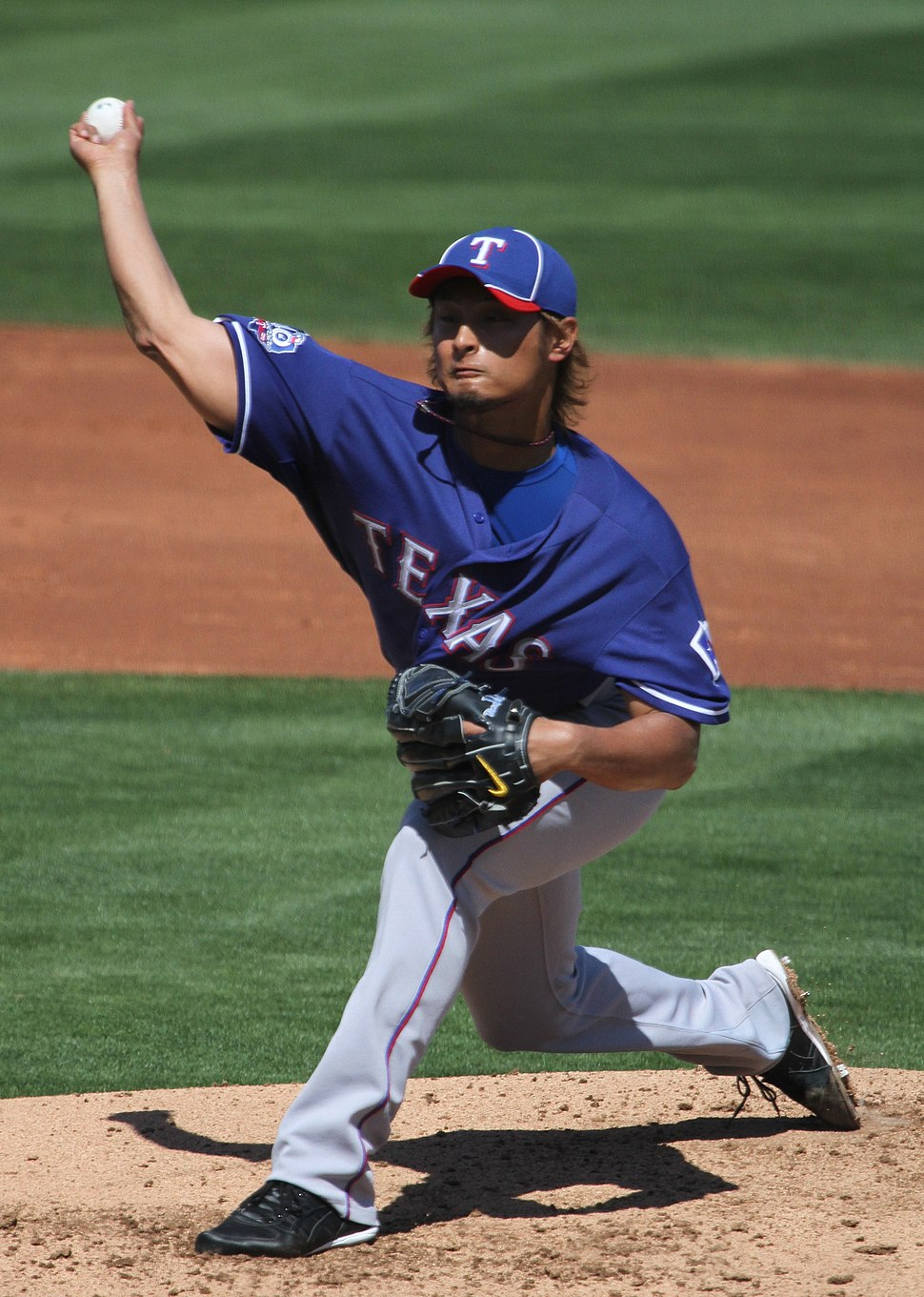 Yu Darvish on March 13, 2012 (2)