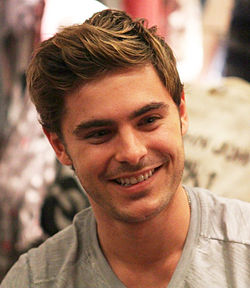 Zac Efron in 2012