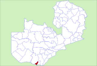District in Southern Province, Zambia