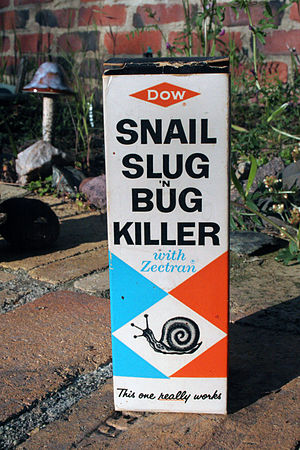Alexander Shulgin - Zectran-containing pesticide manufactured by Dow; photo taken at the Farm on July 26, 2009.