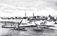 Il porto e il lungomare di Zeila