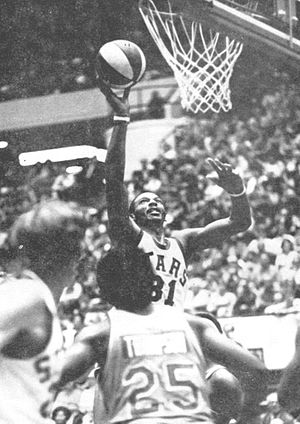 Utah Stars - Zelmo Beaty won the ABA Playoffs Most Valuable Player Award after leading the Stars to the 1971 ABA title.