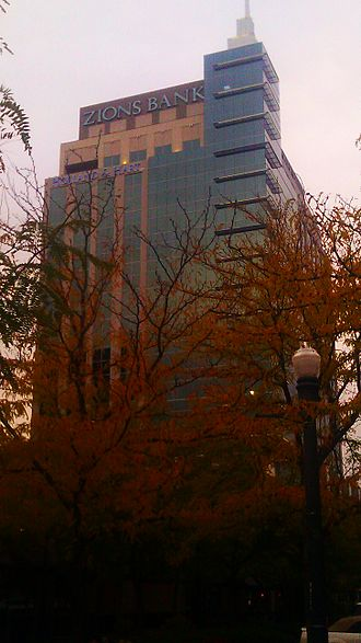 Eighth & Main - Zions Bank Building as of Oct. 2013