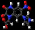 Zonampanel molecule ball.png