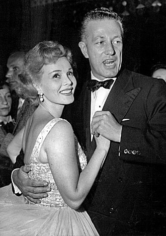 Zsa Zsa Gabor - Dancing with director Nicholas Ray (1953)