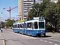 Zurich Be 4-6 Tram 2000 2094 Kalkbreite.jpg
