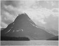 """Two Medicine Lake, Glacier National Park,"" Montana, 1933 - 1942 - NARA - 519874.tif"