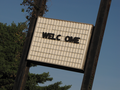 """""""WELCOME"""" sign at former Howard Johnson's restaurant -01- (50866965591).png"""