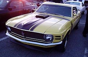 Boss 302 Mustang - 1970 Boss 302 Mustang