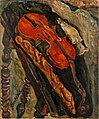 'Still Life with Violin, Bread, and Fish' by Chaïm Soutine, c. 1922.jpg