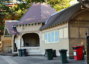 Bellevue Hill, New South Wales - Image: (1)Cranbrook sports pavilion