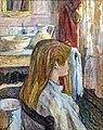 (Albi) Femme à sa fenêtre 1896 - Toulouse-Lautrec MTL.160.jpg
