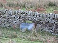 (Blocked up) sheep hole - geograph.org.uk - 612933.jpg