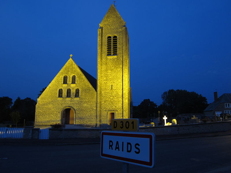 église Saint-Georges de fr:Raids